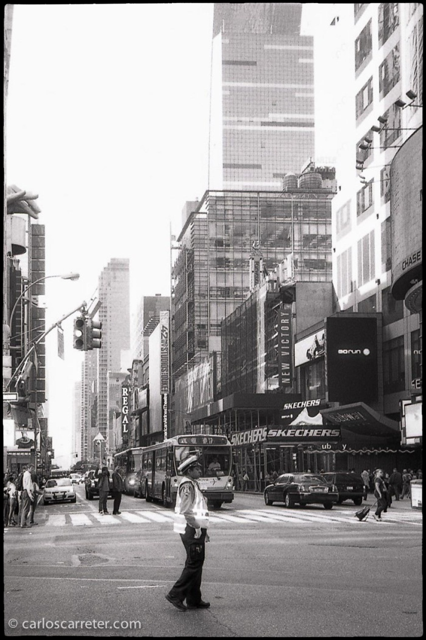 Calle 42 desde Time Square.