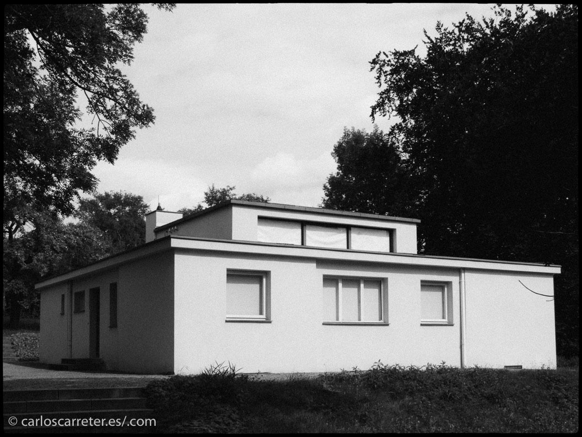 Visité el legado de la Bauhaus en Weimar, donde surgió, y otras ciudades.