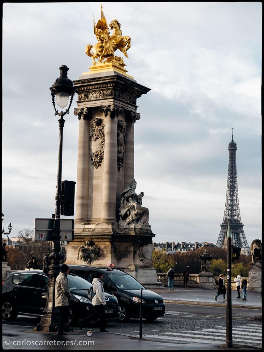 Dos de las películas de hoy transcurren en París, así que nos vamos fotográficamente a la capital francesa.