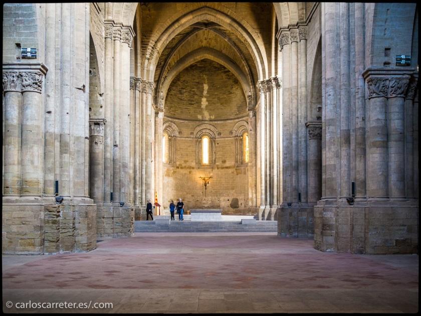 Interior de la Seo Vieja de Lérida.