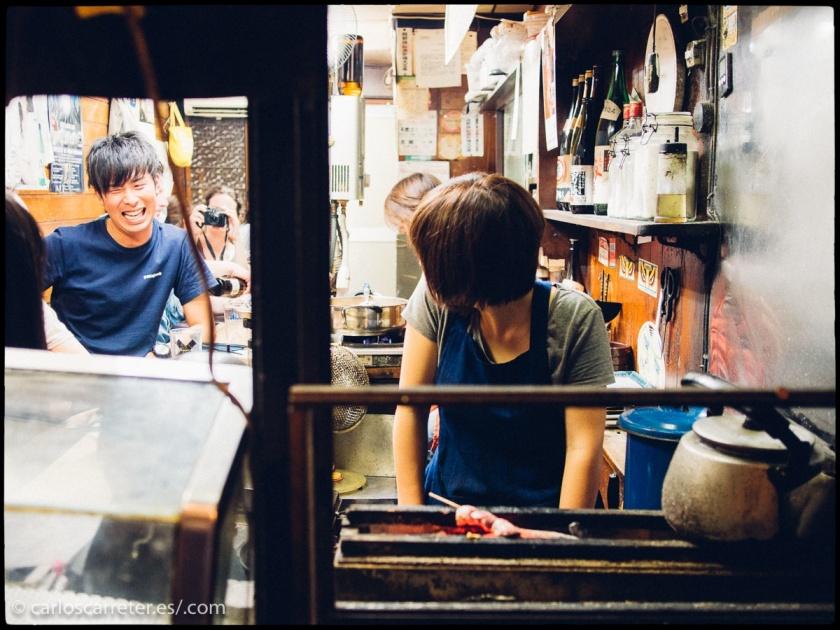 Son muchos los paisajes urbanos de Tokio que vemos en la película.