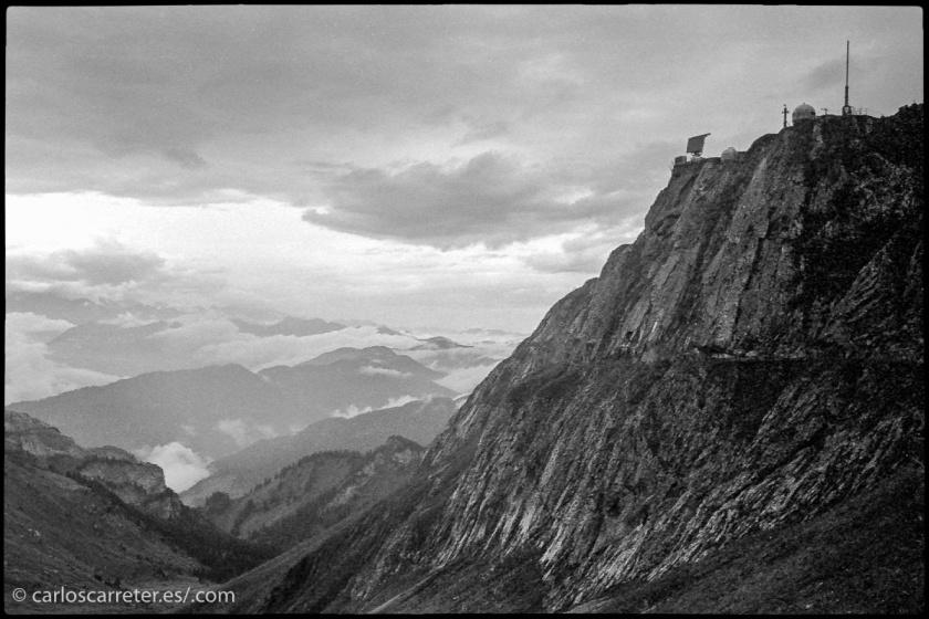 Y termino con un paisaje en blanco y negro del monte Pilatus, cerca de Lucerna, Suiza.