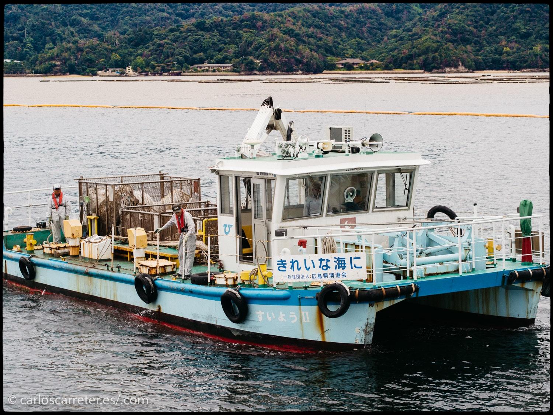Ya que la acción transcurre en Japón, aunque principalmente en Tokio y Osaka, nos iremos al país del Sol Naciente, en concreto a la isla de Itsukushima.
