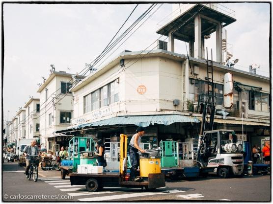 Mercado exterior de Tsukiji.