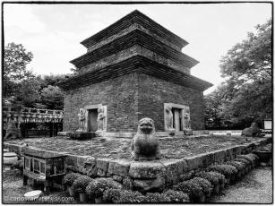 Pagoda de Goseonsa, Gyeongju.