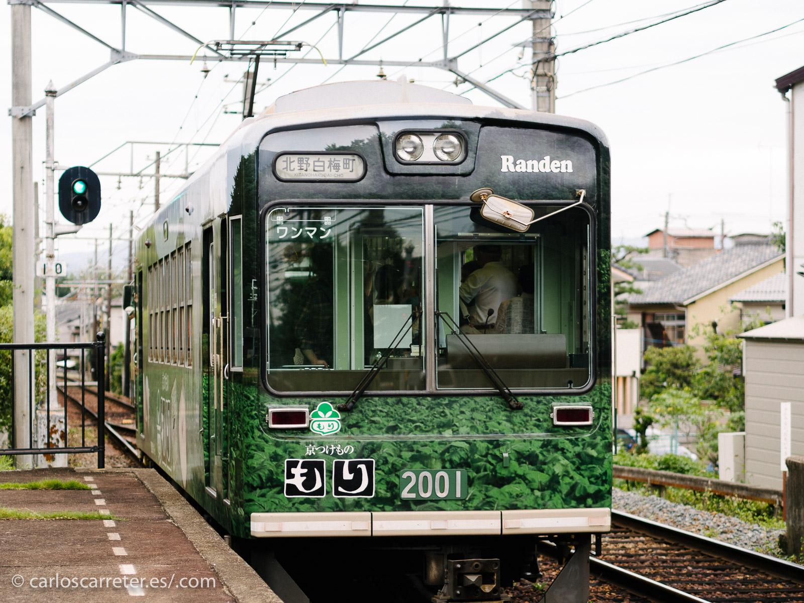 Estación de Omuroninnaji - Kioto